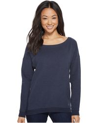 Arc'teryx - Mini-bird Sweatshirt (navy Heather) Women's Sweatshirt - Lyst