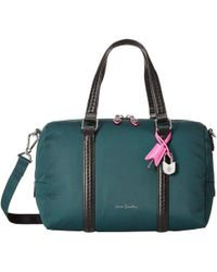 a1d9352238 Vera Bradley - Midtown Satchel (woodland Green) Satchel Handbags - Lyst