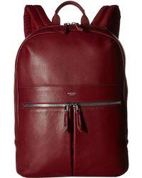 Knomo - Mayfair Luxe Beaux Backpack (burgundy) Backpack Bags - Lyst
