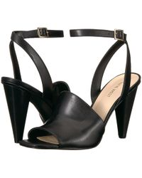 Nine West - Quilty Leather Heeled Sandal - Lyst
