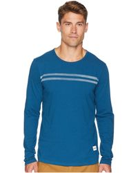 Hurley - Faded Jersey Long Sleeve Knit (blue Force) Men's Clothing - Lyst