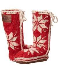 Woolrich - Chalet Sock (amaryllis) Women's Slippers - Lyst
