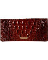 Brahmin - Melbourne Ady Wallet (black) Wallet Handbags - Lyst