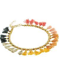 Shashi - Jamie Ombre Tassel Bracelet - Lyst