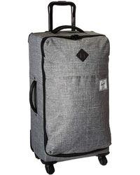 Herschel Supply Co. - Highland Medium (black Crosshatch) Luggage - Lyst