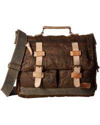 Bed Stu - Sheldon (black Oilslick) Bags - Lyst
