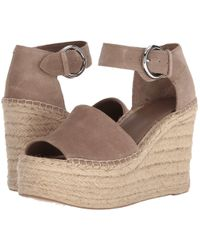 Marc Fisher - Alida Espadrille Wedge (light Pale Rust Kid Suede) Women's Shoes - Lyst