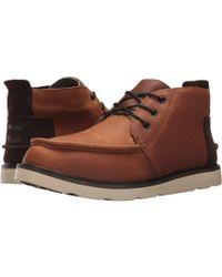 TOMS - Chukka Boot (waterproof Brown Pull-up Leather) Men's Lace-up Boots - Lyst