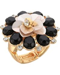 Guess - Flower Cocktail Ring - Lyst