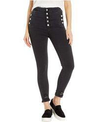 J Brand - Natasha High-rise Crop Skinny In Ballatrix Destruct (ballatrix Destruct) Women's Jeans - Lyst