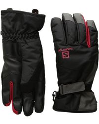 Yves Salomon - Force Dry M (black/forged Iron) Gore-tex Gloves - Lyst