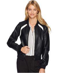 Joe's Jeans - Paola Bomber (black) Women's Coat - Lyst