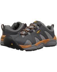 Keen Utility - San Antonio Aluminum Toe (magnet/desert Sun) Men's Work Boots - Lyst