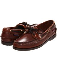 Sebago - Schooner 2 Eye Classic Boat Shoes - Lyst