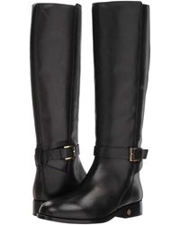 d8c89d431be Tory Burch - Brooke 25mm Knee Boot (perfect Black) Women s Boots - Lyst