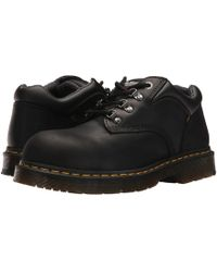 Dr. Martens - Hylow Steel Toe (black) Lace Up Casual Shoes - Lyst