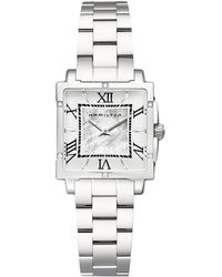 Hamilton - Jazzmaster Square Lady - H32291114 (silver) Watches - Lyst