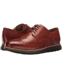 Cole Haan - Original Grand Shortwing (woodbury Leather/ivory) Men's Shoes - Lyst