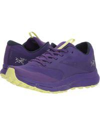 Arc'teryx - Norvan Ld Gtx (dahlia/lumen Lime) Women's Shoes - Lyst