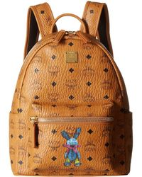 MCM - Rabbit Backpack Small (cognac) Backpack Bags - Lyst