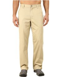 Mountain Khakis - Teton Twill Pant (sand) Men's Casual Pants - Lyst