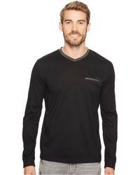 CALVIN KLEIN 205W39NYC - Textured Jersey Contrast Welt Pocket Shirt - Lyst