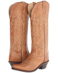 Old West Boots - Ts1541 (tan Canyon) Cowboy Boots - Lyst