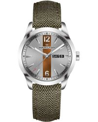 Hamilton - Broadway Day Date - H43311985 (gray) Watches - Lyst