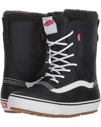41409c8099 Vans - Standardtm Snow Boot  18 (black white) Men s Snow Shoes -