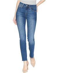 Mavi Jeans - Kendra High-rise Straight Leg In Indigo Supersoft (indigo Supesoft) Women's Jeans - Lyst
