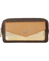 d8df5bae483a MICHAEL Michael Kors - Logo Pvc Belt Bag (black) Women's Belts - Lyst