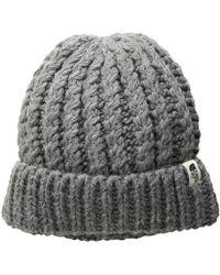 216e5ee05c5 The North Face - Rhodinia Beanie (tnf Medium Grey Heather) Beanies - Lyst