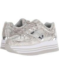Skechers - Highrise (silver) Women's Shoes - Lyst