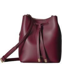 Lauren by Ralph Lauren - Dryden Mini Debby (merlot/rose Smoke) Handbags - Lyst