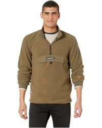 Timberland - Polar Fleece 1/4 Zip (grape Leaf) Men's Fleece - Lyst