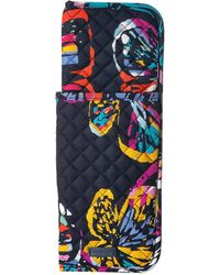Vera Bradley - Iconic Curling Flat Iron Cover (classic Navy) Wallet - Lyst