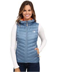 The North Face Tonnerro Hooded Vest (cool Blue (prior Season)) Vest