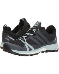 adidas Originals - Terrex Agravic Gtx(r) (carbon/grey Three/ash Green) Women's Running Shoes - Lyst