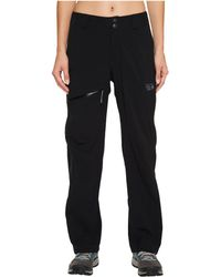 Mountain Hardwear - Stretch Ozonictm Pant (black) Women's Outerwear - Lyst