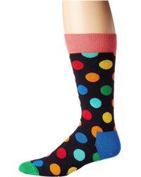 Happy Socks - Big Dot Socks (bright Combo) Men's Crew Cut Socks Shoes - Lyst