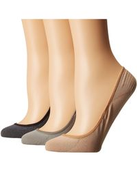 Sperry Top-Sider - Marl Padded Sole Liner 3-pack (beige) Women's No Show Socks Shoes - Lyst