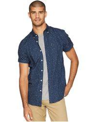 Ben Sherman - Short Sleeve Splash Print Shirt (navy) Men's Clothing - Lyst