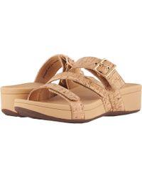 Vionic - Rio (gold Cork) Women's Sandals - Lyst
