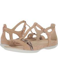 35367b345 Ecco - Flash Buckle Sandal (champagne) Women s Sandals - Lyst