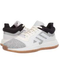 cbf7e4db9cb adidas - Marquee Boost Low (collegiate Royal crystal White blue) Men s Shoes