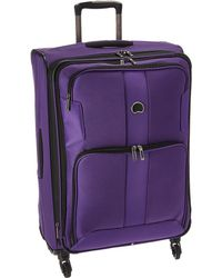 Delsey - Sky Max Expandable 25 Spinner Upright (purple) Luggage - Lyst