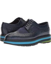 Paul Smith - Grand Stripe Sneaker (dark Navy Crocodile Print) Women's Shoes - Lyst