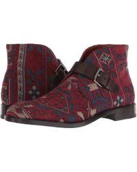 Etro - Carpet Print Ankle Boot (brown) Men's Boots - Lyst