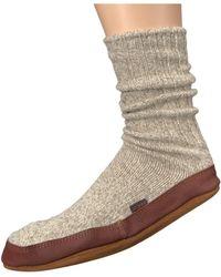 Acorn - Slipper Sock (maine Woods Jacquard) Shoes - Lyst