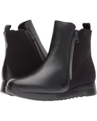 Munro - Ashcroft (black Leather/black Fabric) Women's Boots - Lyst